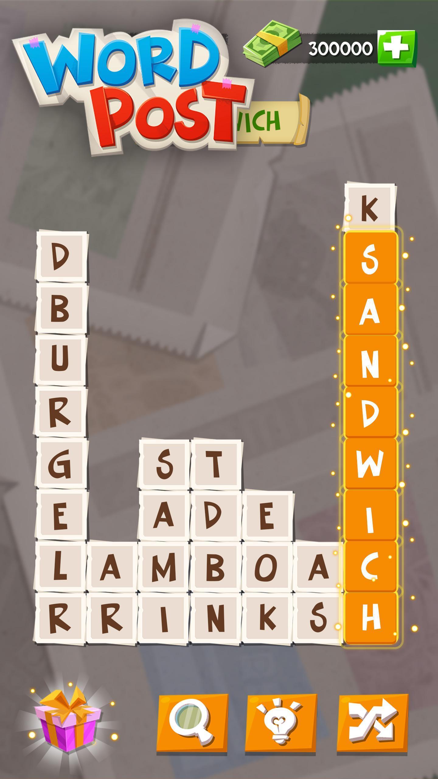 Word Post: Link & Crush Letters in Crossword Games screenshot 3