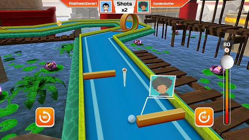 Mini Golf 3D City Stars Arcade - Multiplayer Rival screenshot 6