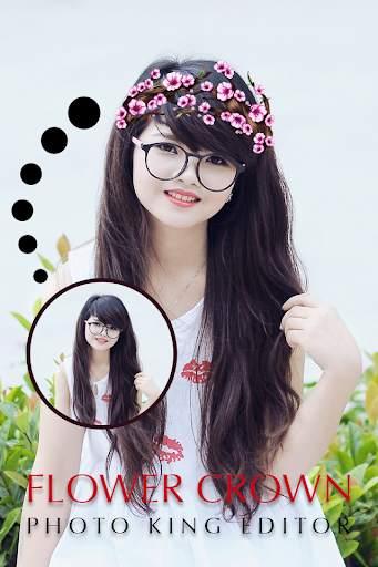 Flower Crown For Girl Editor screenshot 2