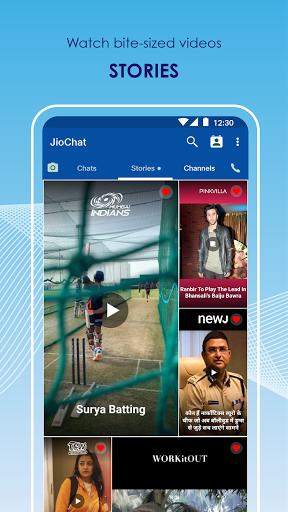 JioChat: HD Video Call screenshot 6
