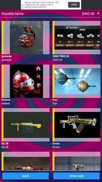 Free Pubg Mobile Uc Cash and Skins screenshot 4