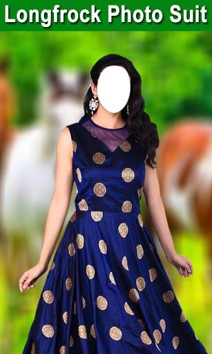 Longfrock Photo Suit for girls : Women long dress screenshot 4