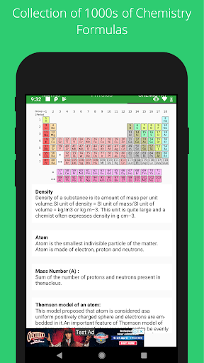 All Formulas - Math, Physics & Chemistry 5 تصوير الشاشة