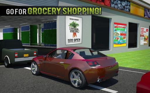 चलाना थ्रू सुपरमार्केट: खरीदारी मॉल कार ड्राइविंग स्क्रीनशॉट 16