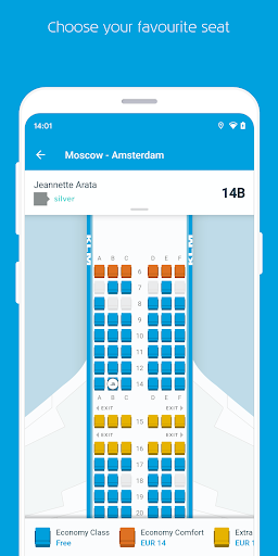 KLM – Book flights and manage your trip screenshot 5