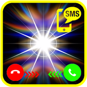 Flash Blinking Alert : Call & Sms icon