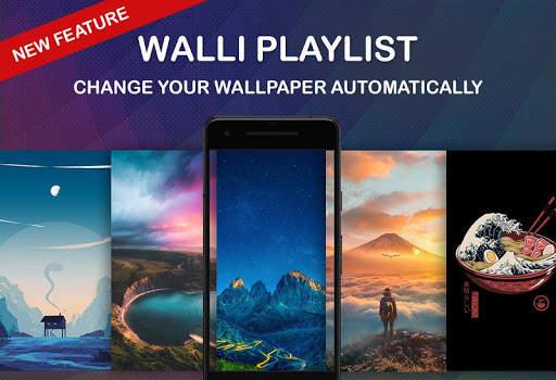 Walli - 4K, HD Wallpapers & Backgrounds screenshot 1