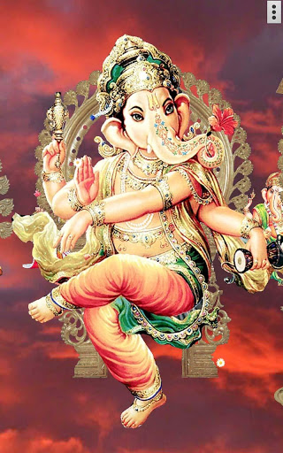 4D Ganesh Live Wallpaper скриншот 1