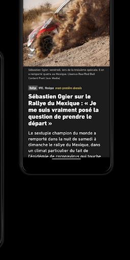 L'Équipe - Sport en direct : foot, tennis, rugby.. screenshot 8