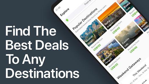Wego Flights, Hotels, Travel Deals Booking App screenshot 2