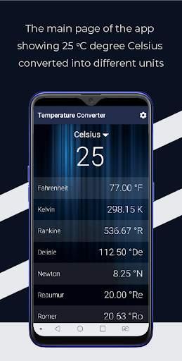 Temperature Converter - Fahrenheit to Celsius etc screenshot 3
