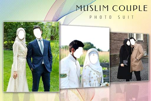 Muslim Couple Photo Suit screenshot 1