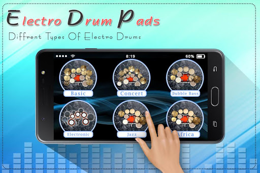 Electro Music Drum Pads: Real Drums Music Game screenshot 4