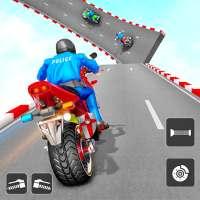 Police Bike Stunt: Bike Games on 9Apps