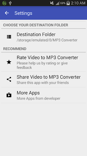 Video to MP3 Converter - MP3 Tagger 8 تصوير الشاشة