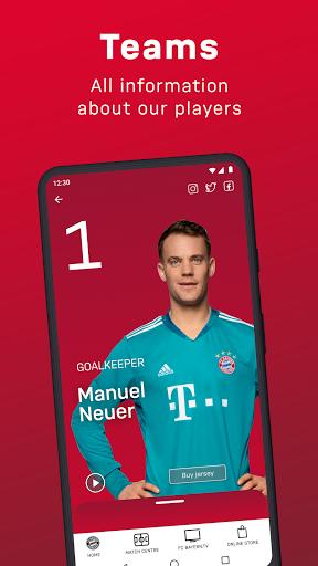 FC Bayern München - football news & live scores 6 تصوير الشاشة