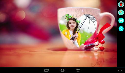 Coffee Cup Photo Frame 6 تصوير الشاشة