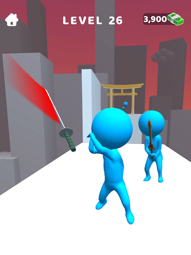 Sword Play! Ninja Slice Runner 3D screenshot 11