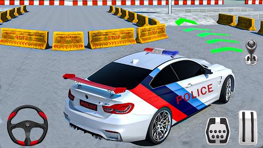 New Game Police Car Parking Games - Car Games 2020 screenshot 1