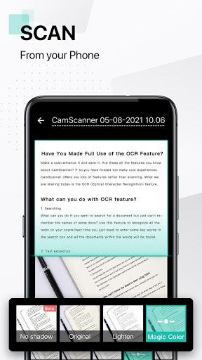 CamScanner-สแกนเอกสารฟรี PDF Scanner App screenshot 1