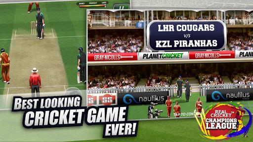 Real Cricket™ Champions League 4 تصوير الشاشة