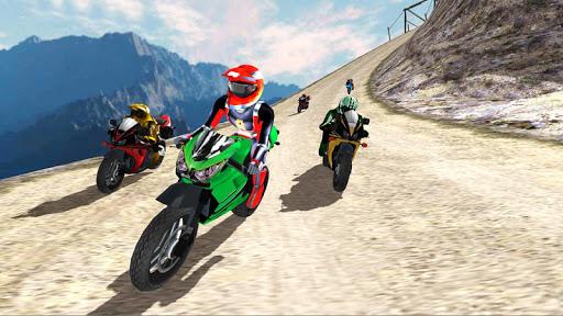 Hill Top Bike Racing 5 تصوير الشاشة