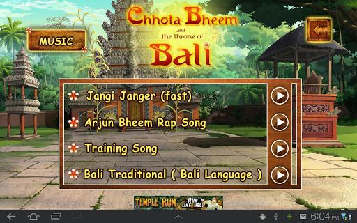 Bali Movie App - Chhota Bheem 6 تصوير الشاشة