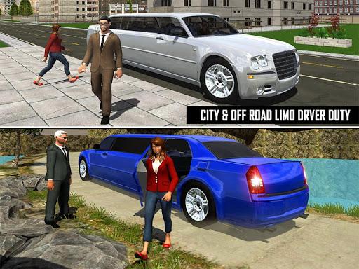 Big City Limo Car Driving Simulator : Taxi Driving 22 تصوير الشاشة