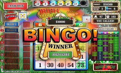 Irish Treasure Rainbow Bingo FREE screenshot 3