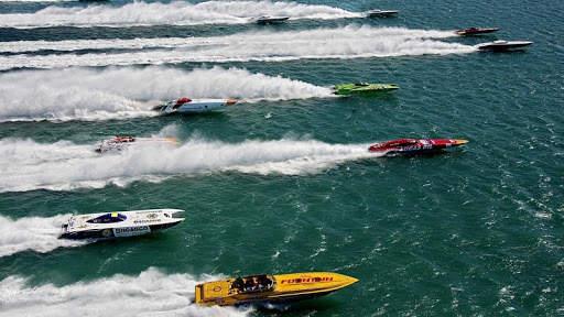 Speed Boat Racing Wallpaper screenshot 5