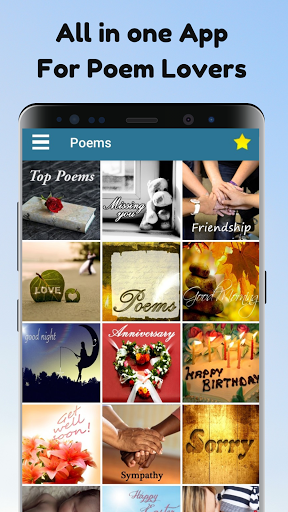 Poems For All Occasions - Love, Family & Friends screenshot 1