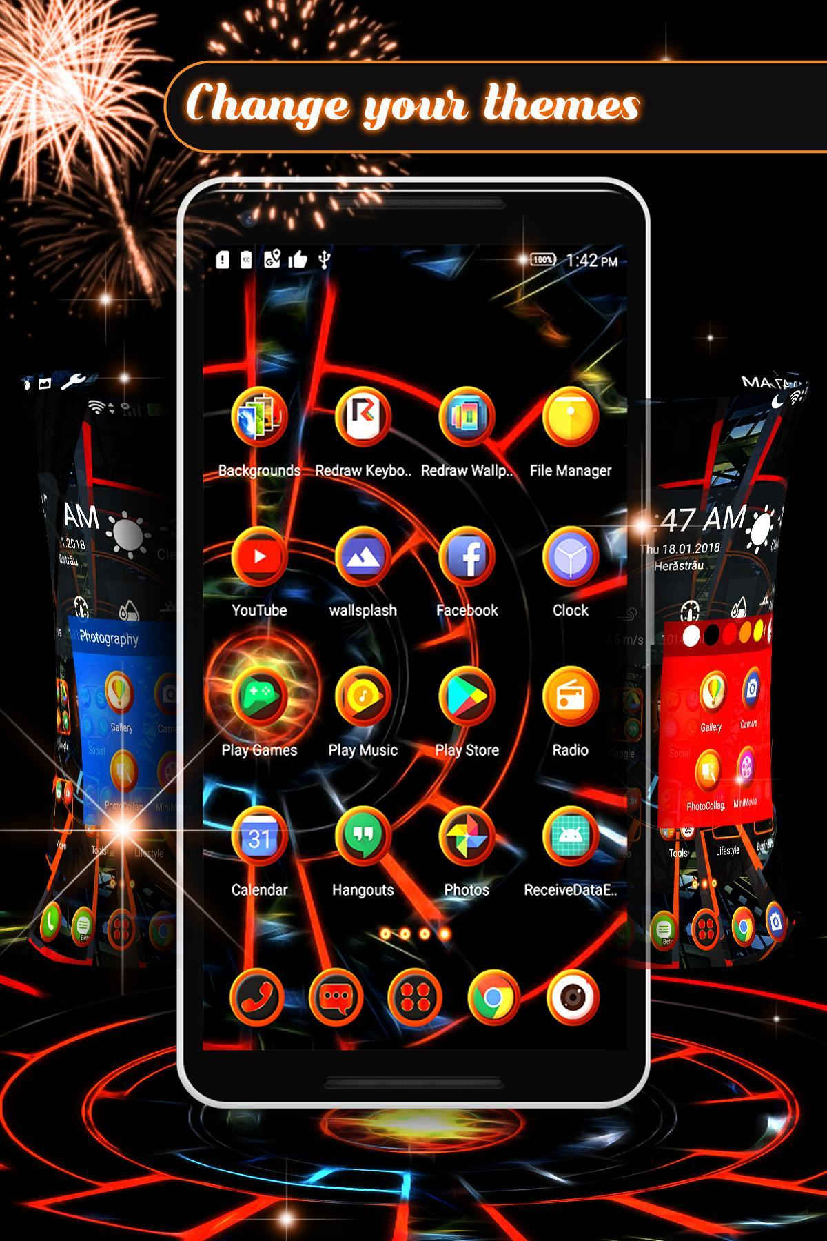 3D 2020 Theme For Android screenshot 6
