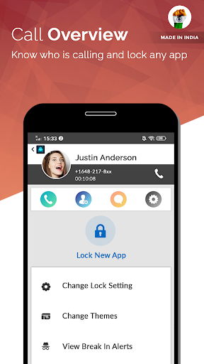 App Lock Fingerprint - A Made in India App 3 تصوير الشاشة
