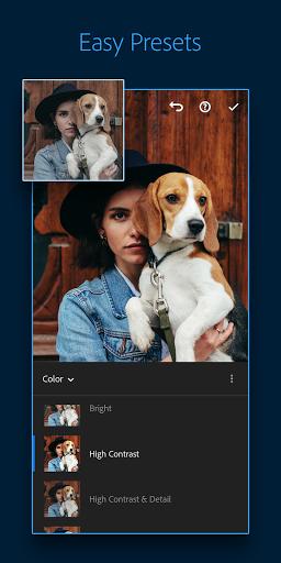 Adobe Lightroom - Photo Editor & Pro Camera 2 تصوير الشاشة