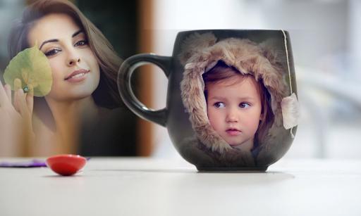 Coffee Mug Multi Photo Frame 1 تصوير الشاشة