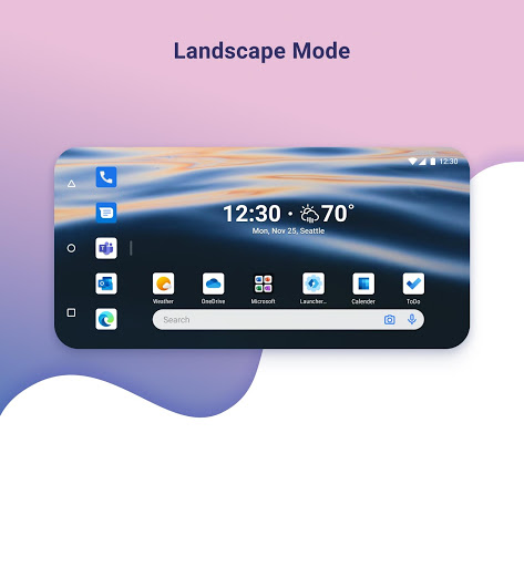 Microsoft Launcher 5 تصوير الشاشة
