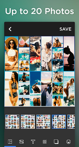 Photo Collage & Grid, Pic Collage Maker-Quick Grid 3 تصوير الشاشة