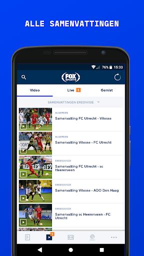 FOX Sports NL 2 تصوير الشاشة