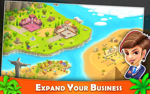 Resort Tycoon - Hotel Simulation 3 تصوير الشاشة
