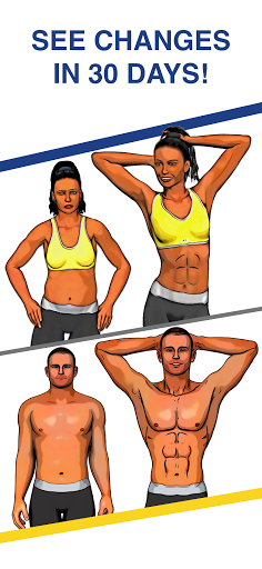 Abs Workout - Daily Fitness screenshot 1