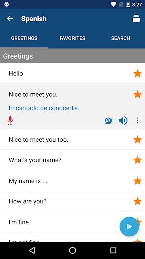 Travel Phrasebook   Foreign Language Translator screenshot 3