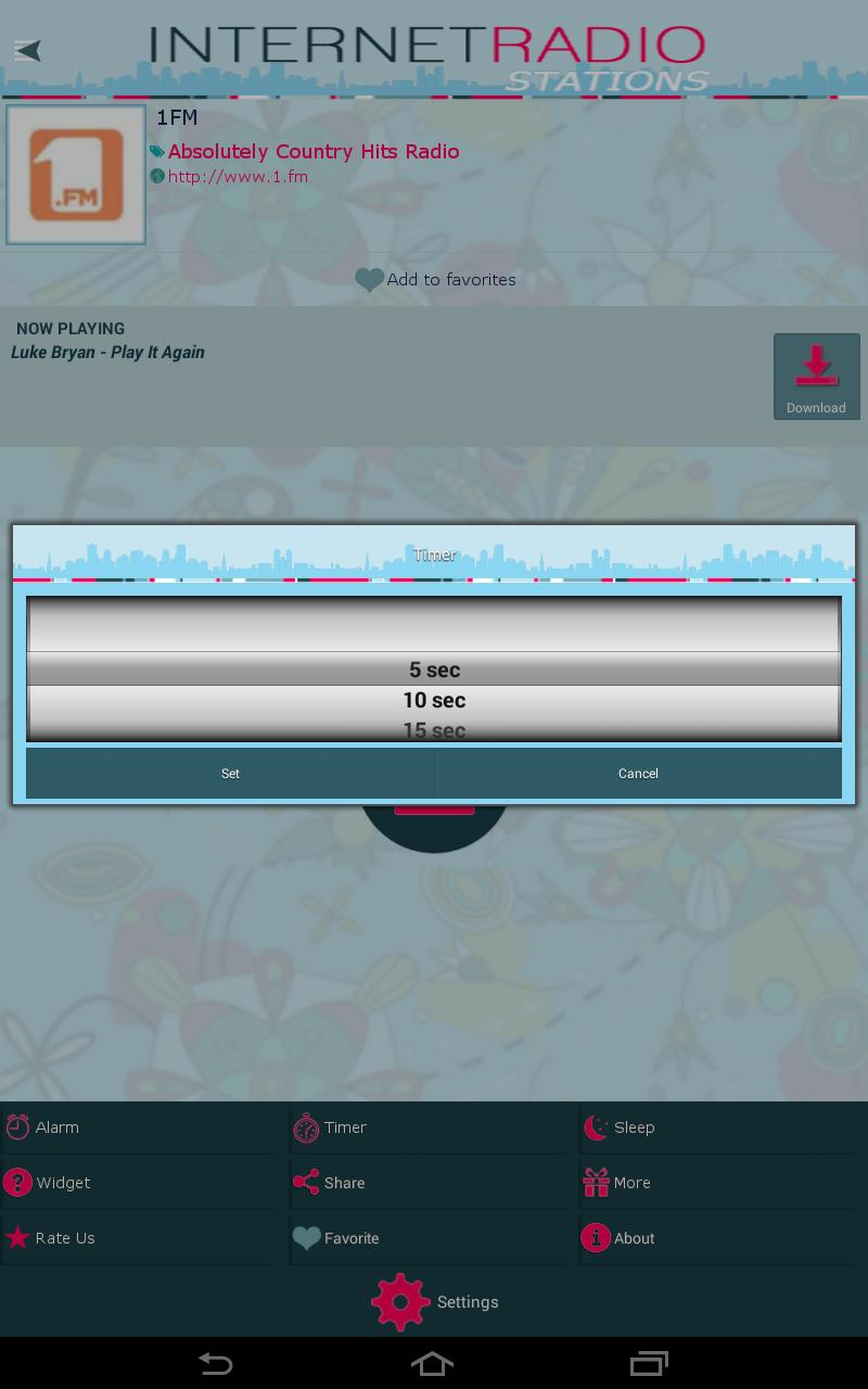 Internet Radio Stations screenshot 12