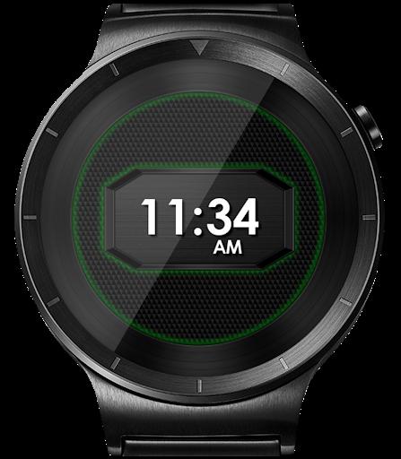 Daring Carbon HD WatchFace Widget Live Wallpaper 16 تصوير الشاشة