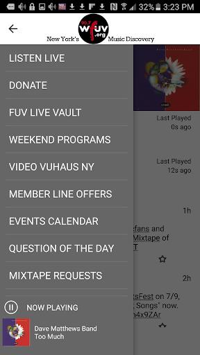 WFUV 2 تصوير الشاشة