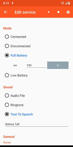 Battery Sound Notification screenshot 5