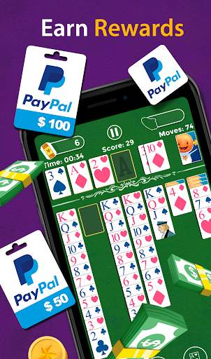 Solitaire - Make Free Money and Play the Card Game screenshot 4