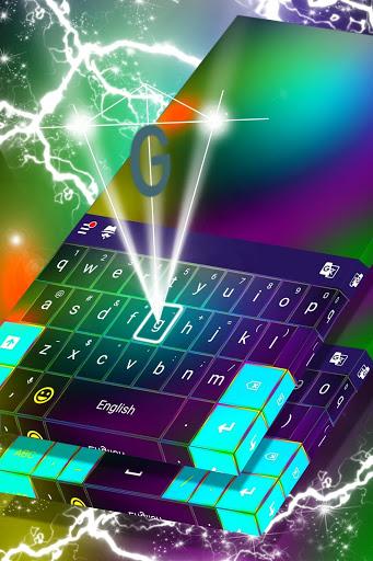 2020 Keyboard Color Theme 2 تصوير الشاشة
