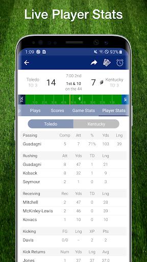 College Football Live Scores, Plays, & Schedules 5 تصوير الشاشة