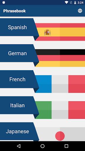 Travel Phrasebook   Foreign Language Translator screenshot 1