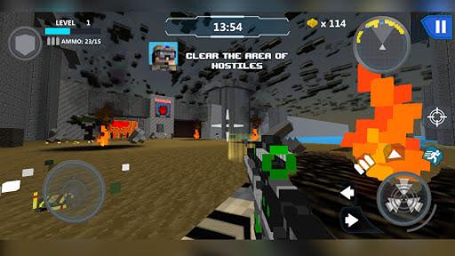 Cube Wars Battle Survival 15 تصوير الشاشة